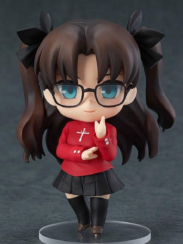 10 Cm Fate Stay Night Tohsaka Rin Die Heilige Gral Krieg Fate/null Säbel Action Figur Spielzeug Weihnachten Geschenk Sammler Geschickte Herstellung