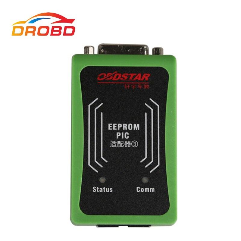Original OBDSTAR PIC und EEPROM 2-in-1 Adapter für X-100 PRO Auto Schlüssel Programmierer Freies verschiffen