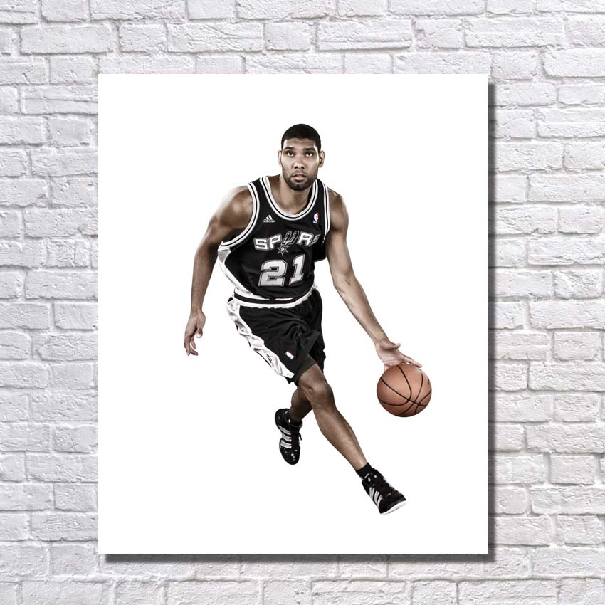 Home Decoration Wall Picture Hand Painted Famous Basketball Star Oil  Painting On Canvas Living Room Wall Decor No Framed