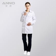 White Medical Lab Coat Clothing Plus size Long Nurse Doctors Coat Women Man Dental Disposable Cotton Doctor Uniform Scrubs