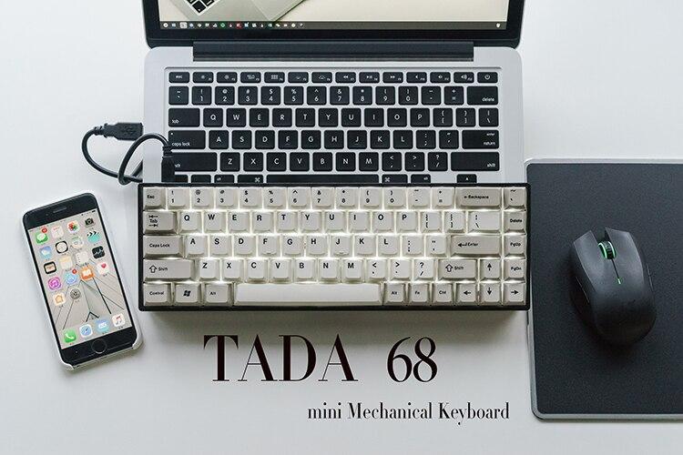 HOT SALE] Mini 68 keys mechanical keyboard portable gateron