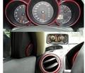 Decoração do carro tira 3 M linha decorativa Automóvel brilhante Rede interior do carro guarnição tira jóias Frete Grátis