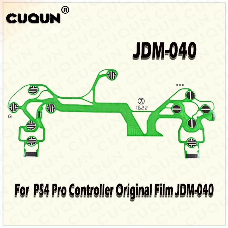 50pcs/lot Original Controller Conductive Film JDM-040 For PS4 PlayStation 4 Pro Gamepad Conductive Screen