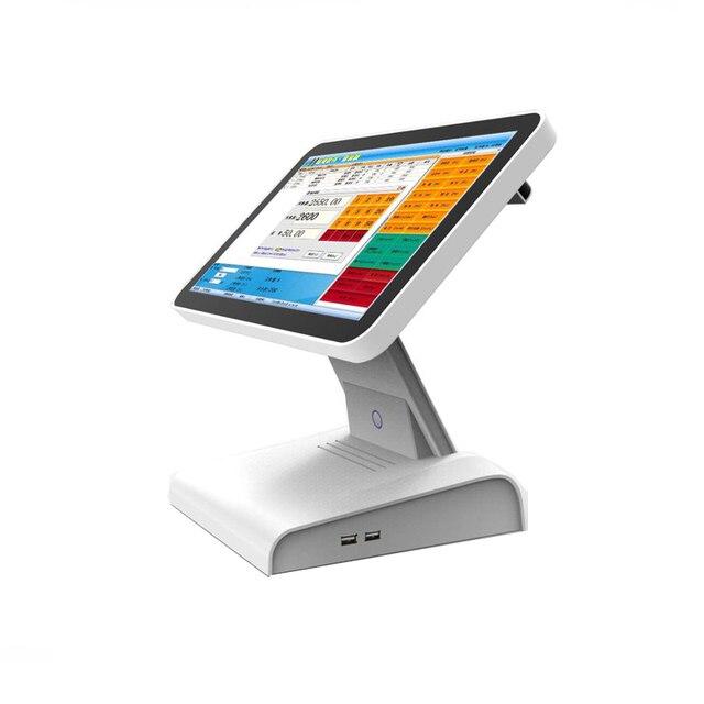 Meilleure vente d'usine 15 pouces tout en un écran tactile Pos système de Point de vente pour Restaurant supermarché caisse enregistreuse 2