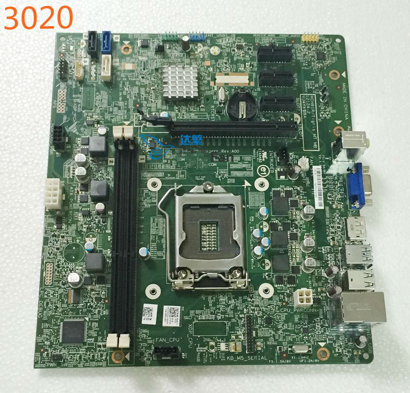 For DELL Optiplex 3020 MT Motherboard MIH81R/Tigris 12124-2 VJ4YX Mainboard 100%tested Fully Work