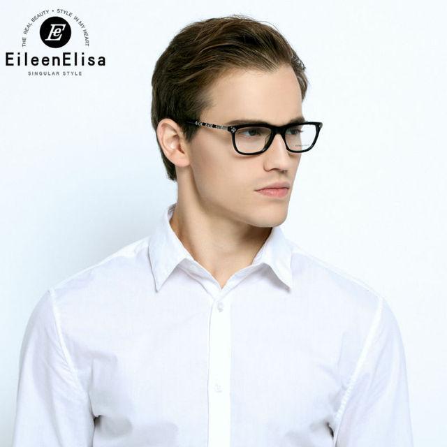 Óculos De leitura Retro Das Mulheres Dos Homens Marca Óculos de Armação Homens Óculos Ópticos Marca EE Olho Frame Ótico Marca
