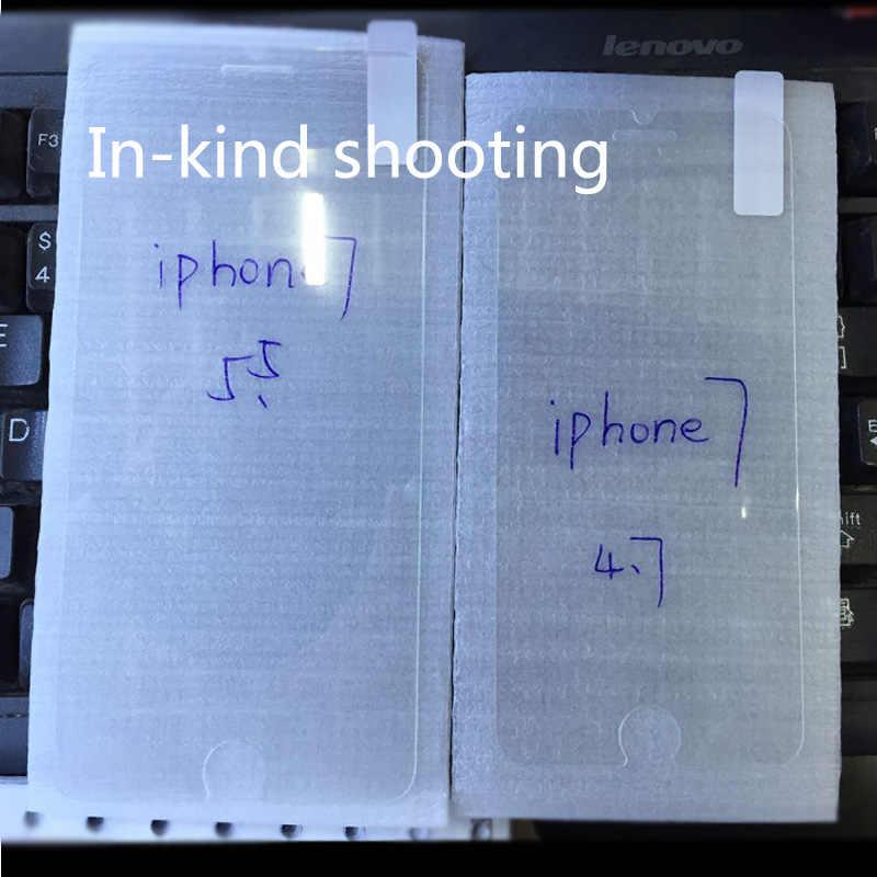 ABAG 0.3mm 9H 2.5D קשת מזג זכוכית עבור iphone X 8 8 בתוספת 4S 5 5S 5c SE 6 6s בתוספת 7 7 בתוספת מסך prodective עבור iphone 11 פרו