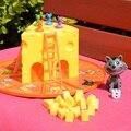 Кошка и мышь торт сыра Раннее Образование Развивающие игрушки мальчики и девочки игрушки подарки Родитель-ребенок интерактивные настольны...