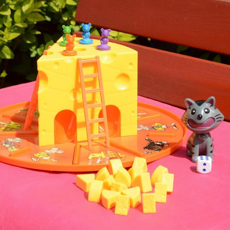Cat and mouse cake cheese early education educational toys boys and girls toys gifts parent-child interactive board games