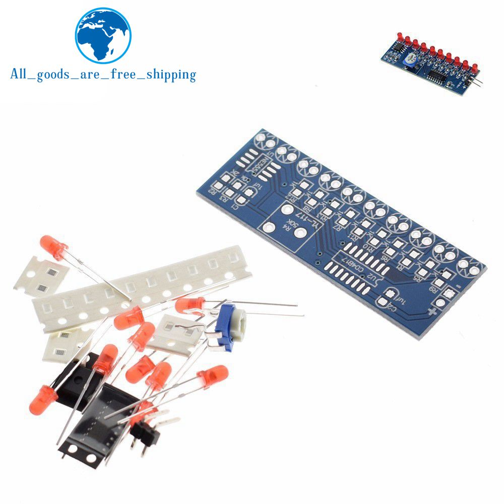 Electronic Components & Supplies Liberal Tzt Ne555+cd4017 Running Led Flow Led Light Electronic Production Suite Diy Kit To Win Warm Praise From Customers