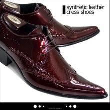 Plus Größe 38-46 Mode Männer Brogue Schuhe Aus Echtem Leder Spitzen kappe Männer Oxfords Party-geschäfts Formal Lace Up Schuhe Herren wohnungen