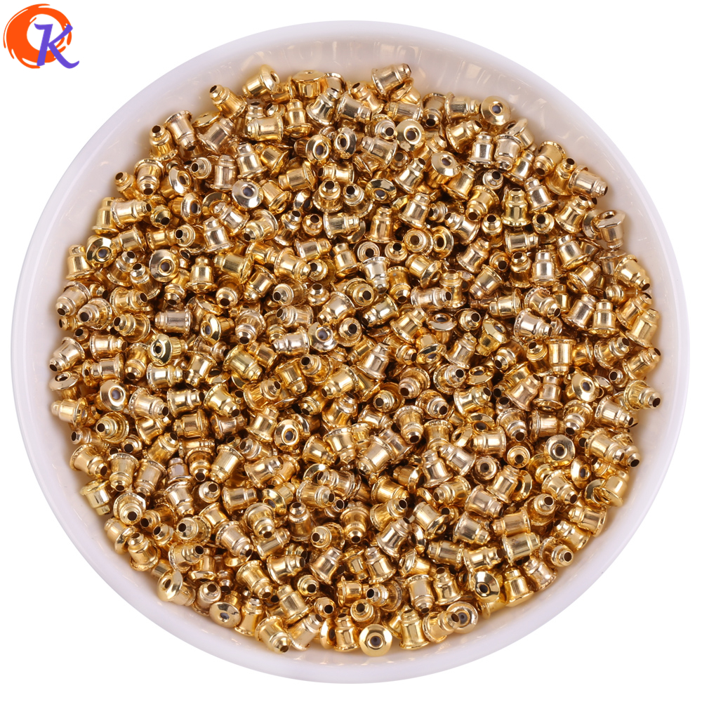 Cordial Design 5mm 200Pcs/Lot Jewelry Accessories/Jewelry Findings Components/Gold Earring Back/Jewelry Making/Earring Findings