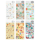 Christmas Daily Decorative PVC Stickers Scrapbooking Stick Label Diary japanese Stationery Album Stickers