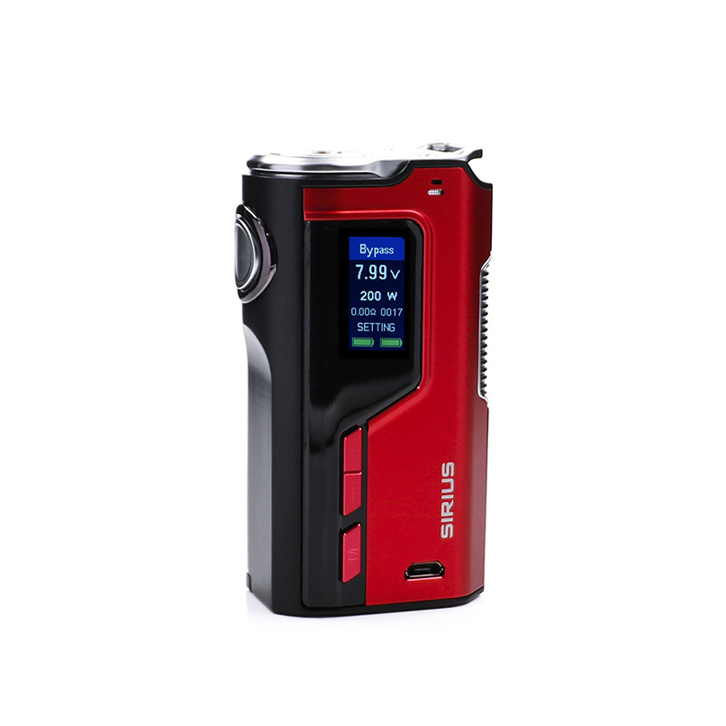 original Lost Vape Modefined Sirius 200W Box Mod electronic cigarett battery PK ijoy diamond fit geekvape ammit siren pharaoh original lost vape triade dna 250 box mod