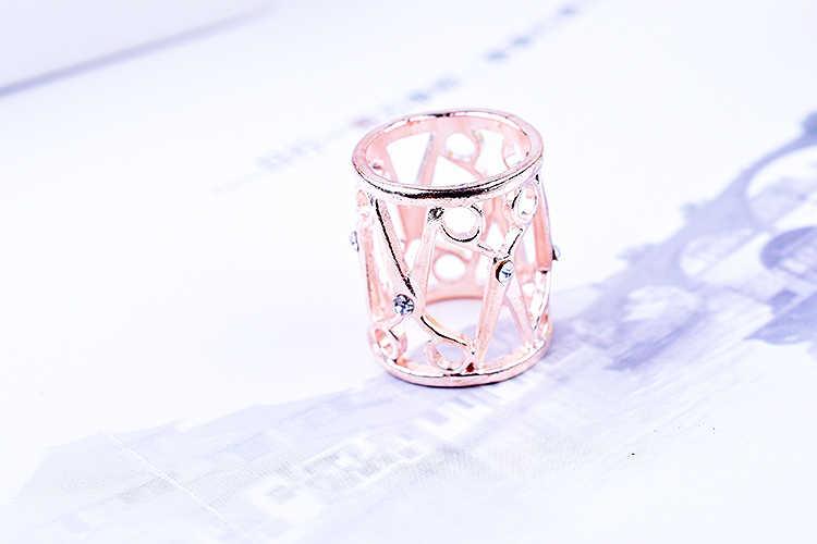 Rose hollow sciarpe fibbia selvatici scialle fibbia anello versione Coreana di hostess sciarpe circle per la femmina