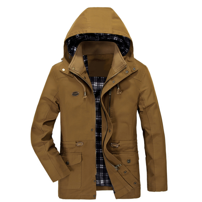 Windbreaker Last Detachable coat 5