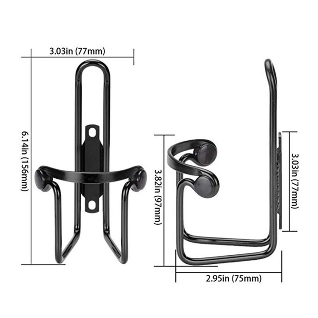 Aluminum Alloy Bicycle Cycling Drink Water Bottle Rack Holder Cages Bike Bottle Cup Mount Bracket 5