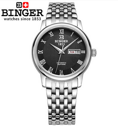 Здесь можно купить   2017 New Binger Watch 8 Color Mens Watches Top Brand Luxury Hot Selling Luxury Japan Movement Material Wristwatch with Calendar Часы