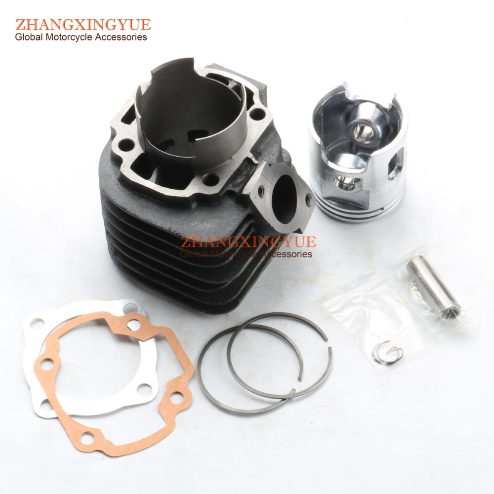 54mm big bore kit Cylinder Set Scooter for Yamaha JOG90 4DM Polaris 90 Hurricane 90 gy6 125cc 52 4mm scooter engine rebuild kit cylinder kit cylinder head assy for 4 stroke 152qmi moped scooter go kart atv