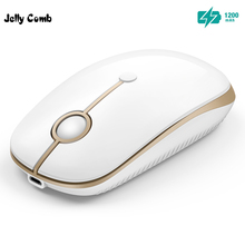 Jelly Comb Notebook Rechargeable Mouse Wireless Mouse for Microsoft Smart TV Laptop font b PC b