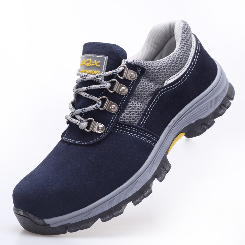AC12010 Working Labor Steel Cap Safety Shoes Breathable Mesh Rubber Outsole Suede Cowhide Anti-smashing Protection Shoes AcecareAC12010 Working Labor Steel Cap Safety Shoes Breathable Mesh Rubber Outsole Suede Cowhide Anti-smashing Protection Shoes Acecare