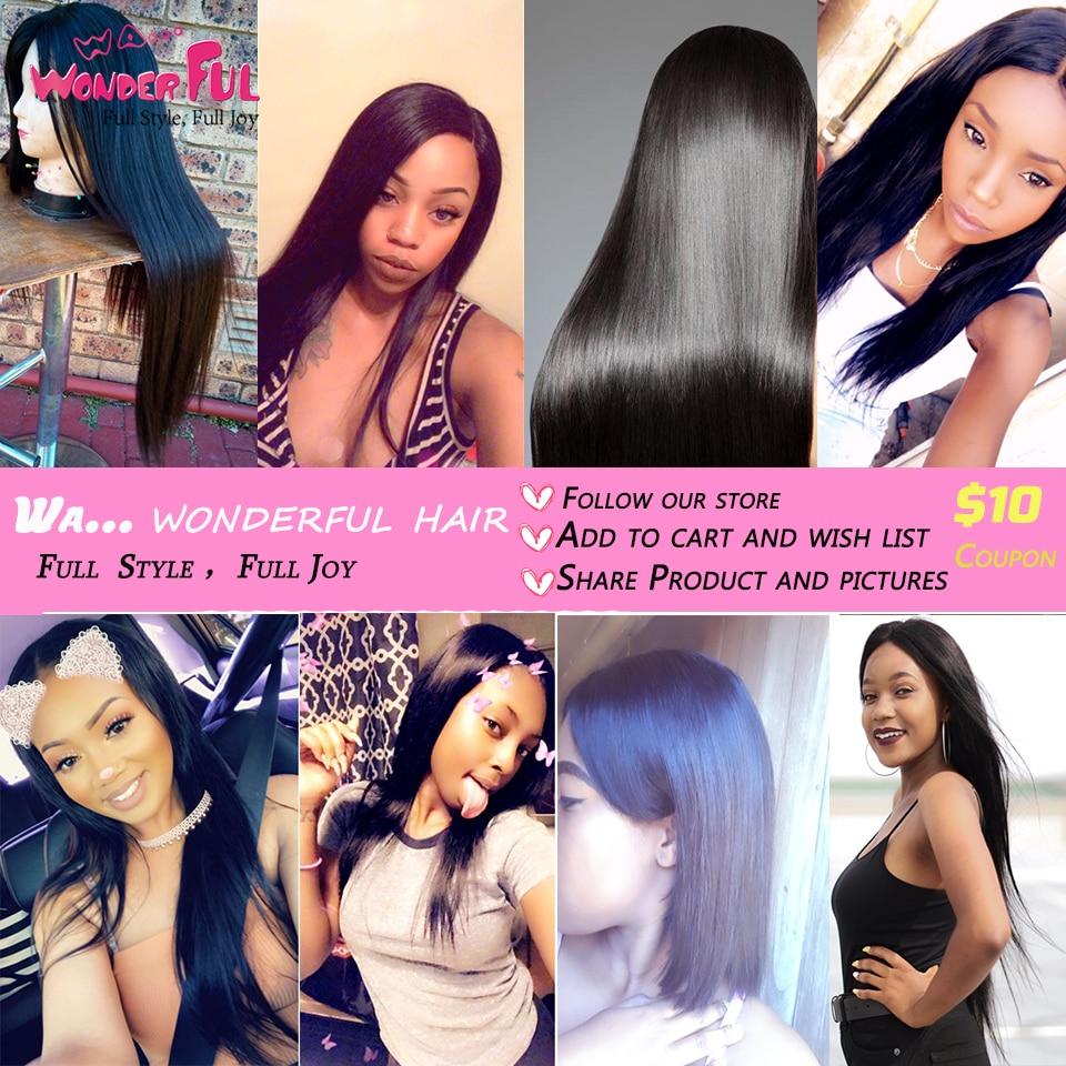 Peruvian Hair Bundles Straight Hair 3 Bundles With Closure Joedir - Skönhet och hälsa - Foto 6