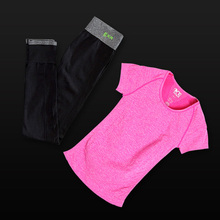 Bright Yoga Set Consisting of Two Pieces