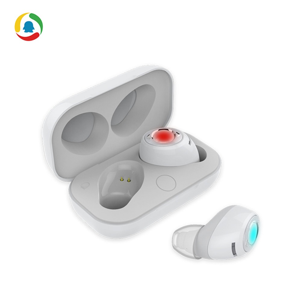 Tencent Earbuds Mini Wireless Bluetooth Earphone Earpieces Stereo Music Headset For Apple iPhone Andriod WP With Charging Box