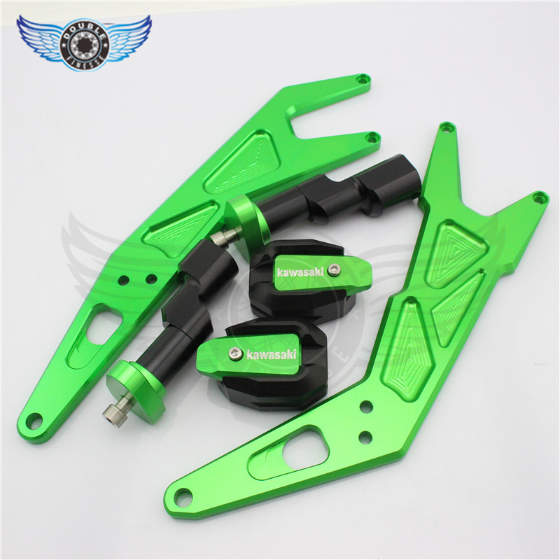 new hot selling motorcycle CNC frame sliders resistance rubber bumpers fit for kawasaki ninja300 ninja 300 300 2013 2014 2015 wheat breeding for rust resistance