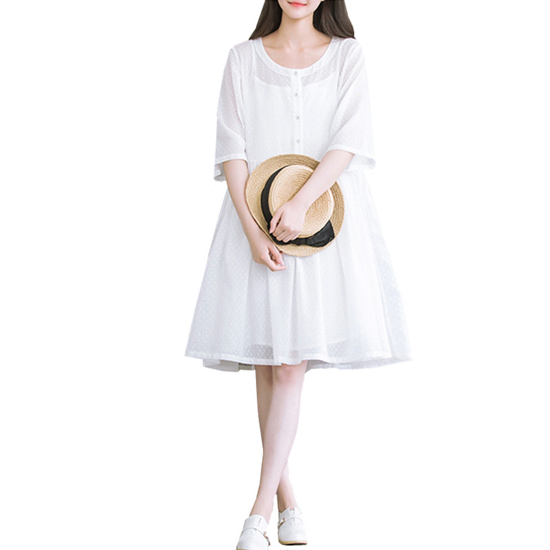 Buy women summer dress shirt female white Buy white dress shirt