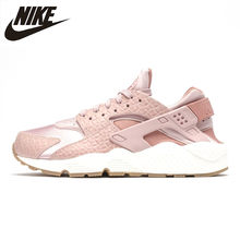 5b299b863c71 Original New Arrival Official NIKE AIR HUARACHE Women s Running Shoes  Sneakers for Women Peach Powder 634835-022 36-40