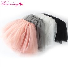 Baby Girl Pettiskirts Net Veil Skirt Kids Cute Princess Clothes Birthday Gift Toddler Ball Gown Party Kawaii TUTU Skirts(China)