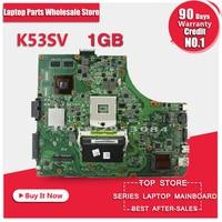 For Asus K53SV K53S Laptop Motherboard Mainboard Rev 3 1 100 Tested Top Quality
