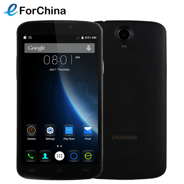 DOOGEE X6 Pro 16GB ROM Phone 2GB RAM 5.5 inch HD Screen Android 5.1 Smartphone MT6735 Quad Core 1.0GHz 4G 3000mAh battery Mobile