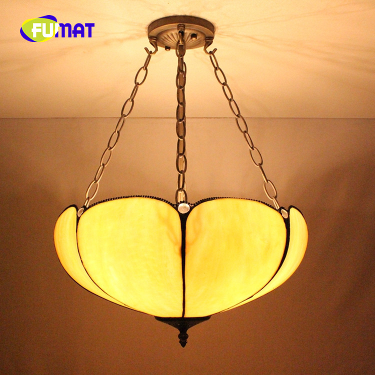 FUMAT European Retro Tiffany Stained Glass cafe bar bedroom restaurant clubhouse Dragonfly and Grape anti-Chandelier tiffany heart shaped baroque restaurant chandelier european retro stained glass lamp bar entrance corridor balcony pendant lamp