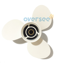 OVERSEE Aluminum Propeller 69W-45947-00-EL 11 5/8X11-G For Yamaha Outboard Engine 60HP 75HP 90HP 11- 5/8X11