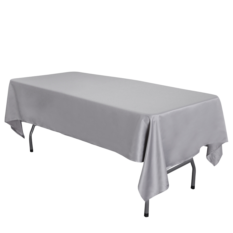 145x260cm 145x320cm Size High Quality Satin Rectangular Tablecloth Wedding Party Decoration Table Cloth For Banquet Home Decor Mega Deal Ff136a Goteborgsaventyrscenter - What Size Is A Rectangular Party Table