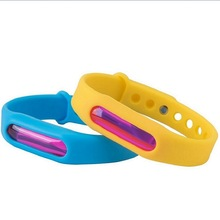 Colorful Mosquito Repellent Bracelet Summer Silicone Anti-mosquito Capsule Anti-insect Insect Belt Child Safety