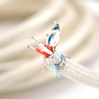 Free shipping QED Signature OFC Silver Plated for DIY RCA Audio Interconnect Cable
