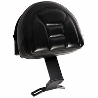 Fixed Black Plug In Driver Backrest For Harley Fatboy Heritage Softail 2007 2013 14 15 16 17