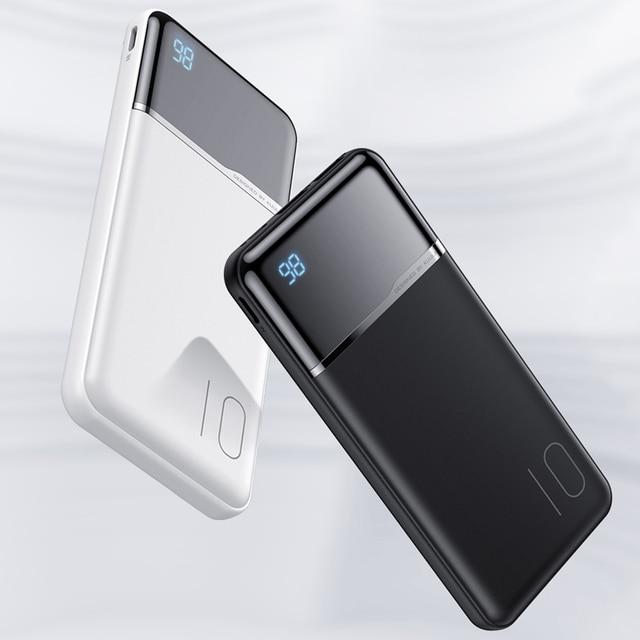 KUULAA Banca di Potere 10000 mAh Ricarica Portatile PowerBank 10000 mAh USB PoverBank Batteria Esterna del Caricatore Per Xiaomi Mi 9 8 iPhone 6