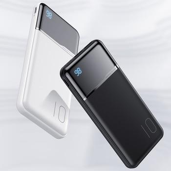 KUULAA Power Bank 10000mAh Portable Charging PowerBank 10000 mAh USB PoverBank External Battery Charger For Xiaomi Mi 9 8 iPhone 5