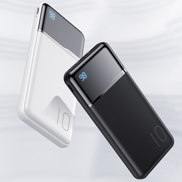 KUULAA Power Bank 10000mAh Portable Charging PowerBank 10000 mAh USB PoverBank External Battery Charger For Xiaomi Mi 9 8 iPhone 5