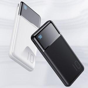 Image 5 - KUULAA Power Bank 10000mAh Портативное зарядное устройство Poverbank 10000 мАч Dual USB сверхтонкое зарядное устройство для Xiaomi Mi 9 8 iPhone