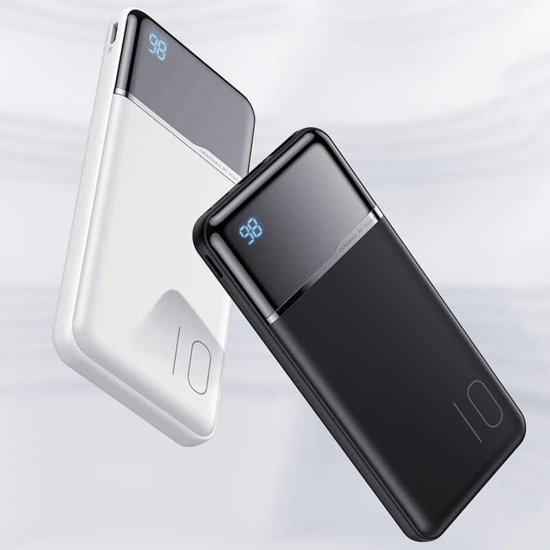 Kuulaa Power Bank 10000 MAh Di Động Sạc Dự Phòng Powerbank 10000 MAh USB Poverbank Sạc Pin Ngoài Cho Xiao Mi Mi 9 8 iPhone