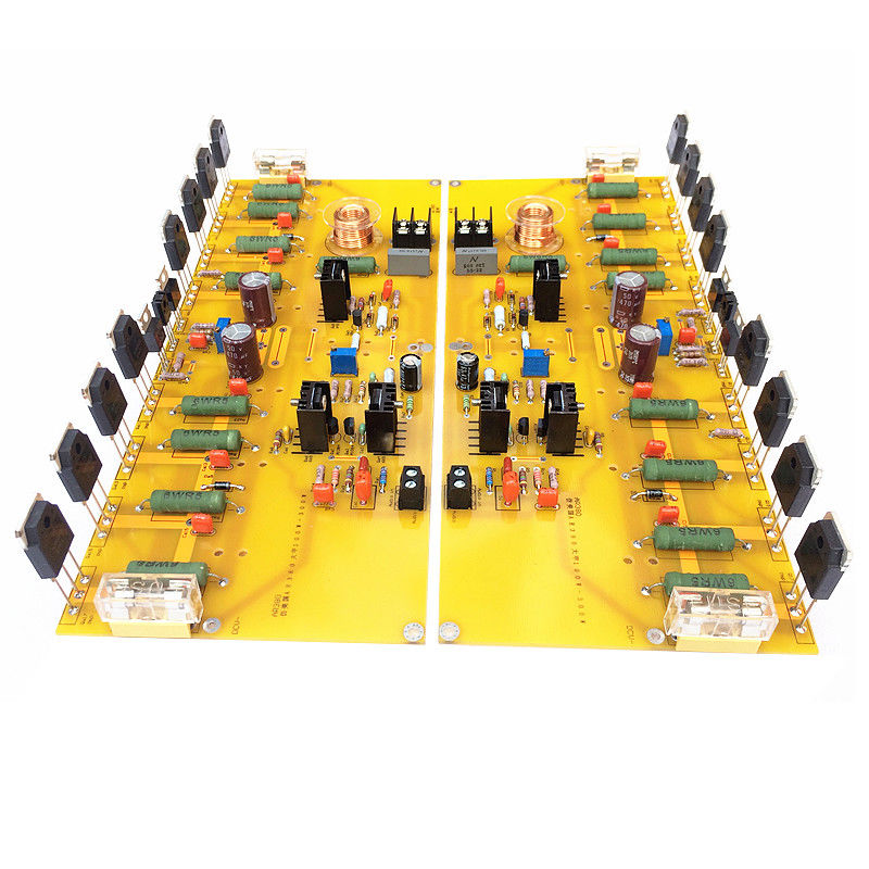 100W Hi-Fi Class A AB 2.0 Channel Power Amplifier Audio Amp Board SCA380 Circuit