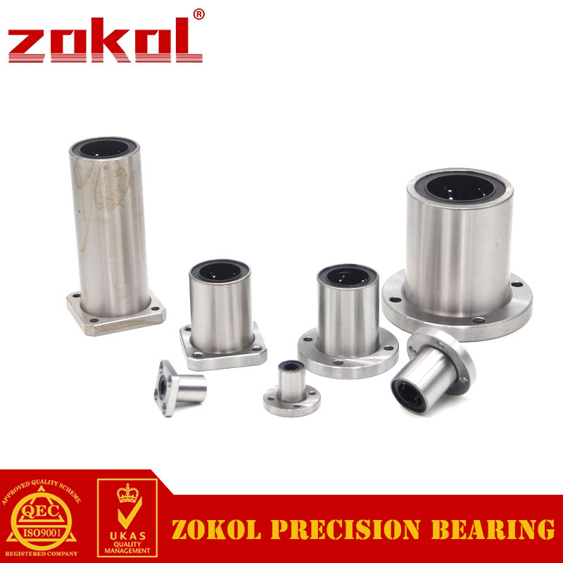 ZOKOL bearing LMF50UU Round flange linear motion bearing 50*80*100mm zokol lmf25 uu bearing lmf25uu round flange linear motion bearing 25 40 59mm