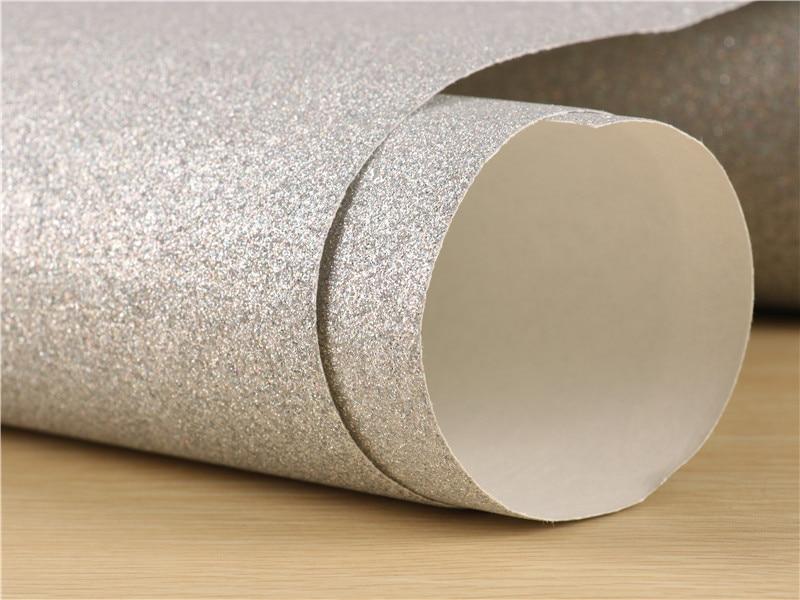 0.53*10m Glitter Wallpaper Surface Does Not Drop Powder 1/128 Flash Powder Rough 3D Effect