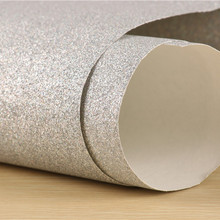 0.53*10m Glitter Wallpaper Surface Does Not Drop Powder 1/128 Flash Powder Rough