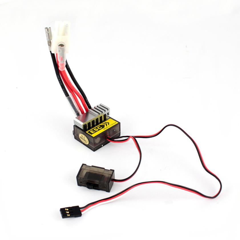 New 320A Speed Controller ESC For RC Car boart 1/8 1/10 Truck Buggy Levert Dropship S9164 new racing 25a esc brushless electric speed controller for rc car truck model